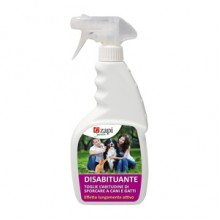 INSETTICIDA DISABITUANTE PER CANI E GATTI SPRAY 1LT.