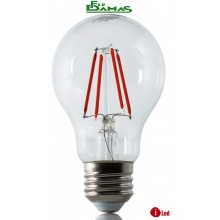 "LAMPADINA ILLUMIA LED BULB RED 4 W E27 SERIE ""COLOR"""