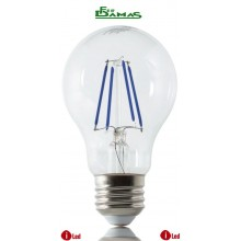 "LAMPADINA ILLUMIA LED BULB BLUE 4 W E27 SERIE ""COLOR"""
