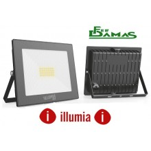 "FARETTO LED ILLUMIA FLOODLIGHT 20W ""SERIE SLIM"""