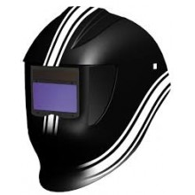 MASCHERA KAPIO RACING BLACK CELLE SOLARI