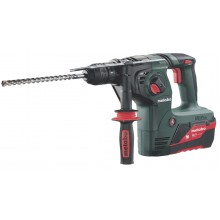 MARTELLO PERFORATORE COMBINATO METABO KHA 36 LTX 5,2 Ah