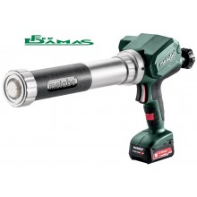 PISTOLA A CARTUCCE PER SILICONE METABO MOD. KPA 12 400 1 x 2.0 Ah