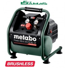 COMPRESSORE A BATTERIA 18 V METABO MOD. POWER 160-5-18 LTX BL OF BRUSHLESS
