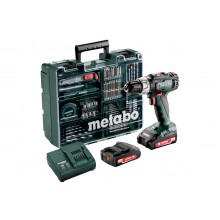 AVVITATORE METABO A PERCUSSIONE MOD.SB 18 L / 2.0 Ah + SET 79 ACCESSORI
